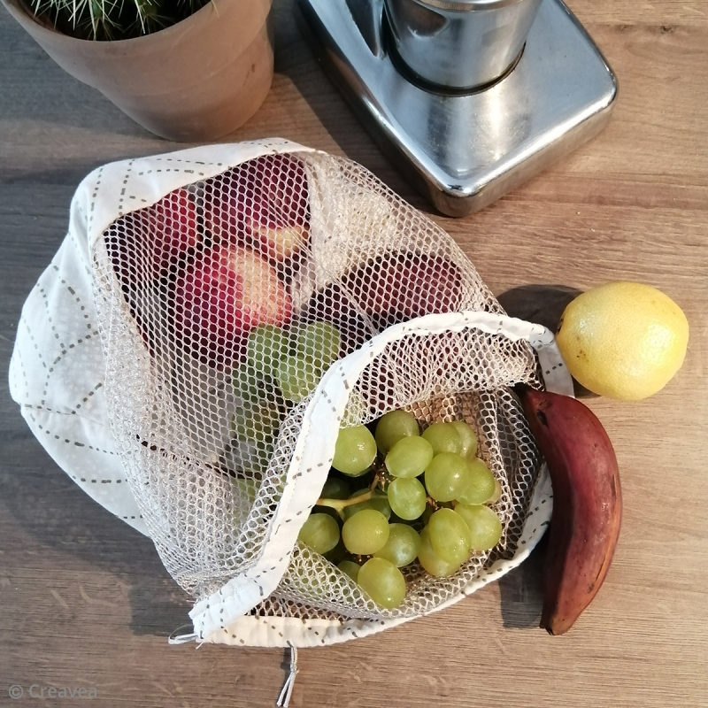 Voilà un petit sac à vrac bien pratique!!!!